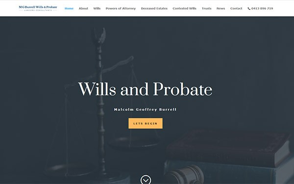 Burrell Wills and Probate