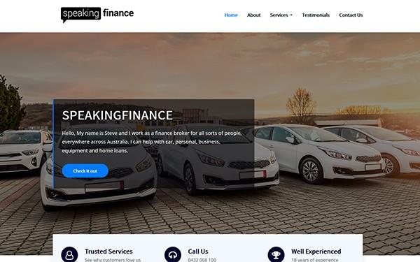 Speaking Finance